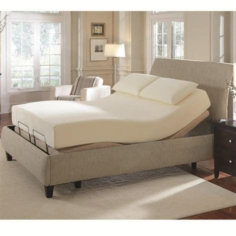 Coaster Bed Frame Coaster Premier Bedding King Adjustable Bed In Camel 300130kem