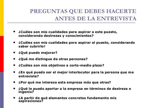 preguntas personales para una entrevista 03 habilidades para entrevistas de trabajo