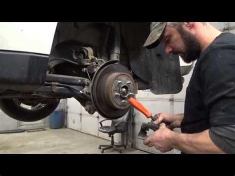 how to change a rear wheel bearing..1999 suzuki swift/g