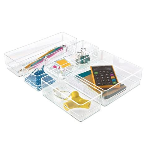 Clear Desk Organizer 17 Best Ideas About Acrylic Drawer Organizer On Bathroom Drawers Acrylic Organizer