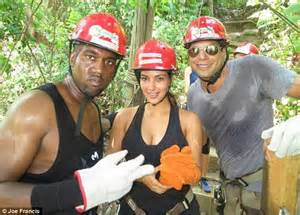 Its Not The Best Week For Joe Francis by Kanye West Grins While Zip Lining With As