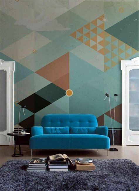 cool wallpaper room 15 living rooms with geometric wallpaper rilane