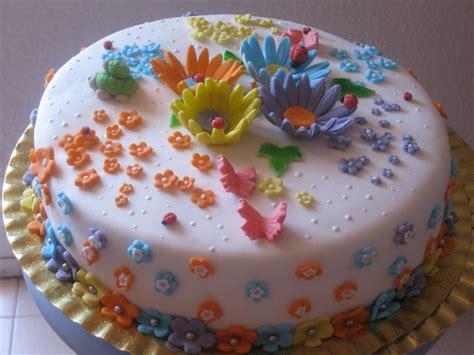 tartas en flor el receta de tarta fondant con flores unareceta com
