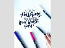 5 Tips to Lettering with Tombow Dual Brush Pens - Tombow ... Journaling Cards Downloads