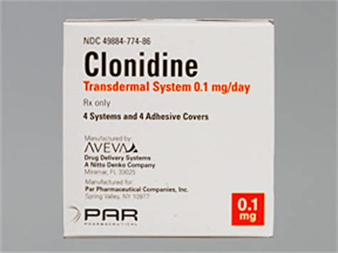 Giving Clonidine To Detox Patients With Low Blood Pressure by Clonidine Bad