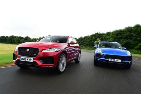 jaguar f pace vs porsche macan pictures auto express