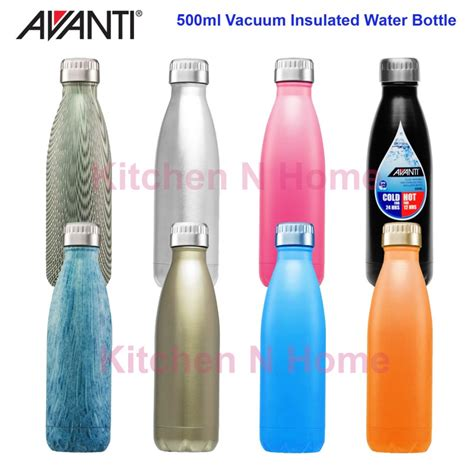 Colourful Thermos Insulated Mik Water Bottle 500ml avanti vacuum insulated water bottle flask vacuum thermos travel mug