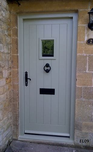 Cottage Style Exterior Doors Oak Cottage Doors Framed Ledged Oak Or Painted Hardwood