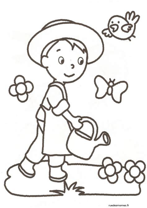 Coloriage Imprimer Metiers Enfant Rue Des Momes Dessin De Pompier A Imprimer L