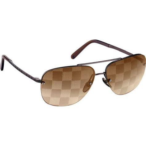 Louis Vuitton Ode Sunglasses by Louis Vuitton Sunglasses Socoa Damier Gold Z0215u