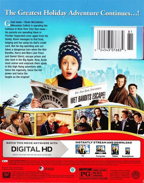 Bluray Original Home Alone Lost In New York review home alone 2 lost in new york 25th anniversary edition no r eruns net