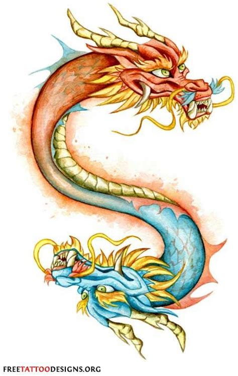 tattoo double dragon chinese dragon tattoos dragon tattoos and dragon on pinterest