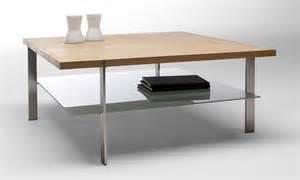 table basse carr 233 e en bois et verre link de naver design