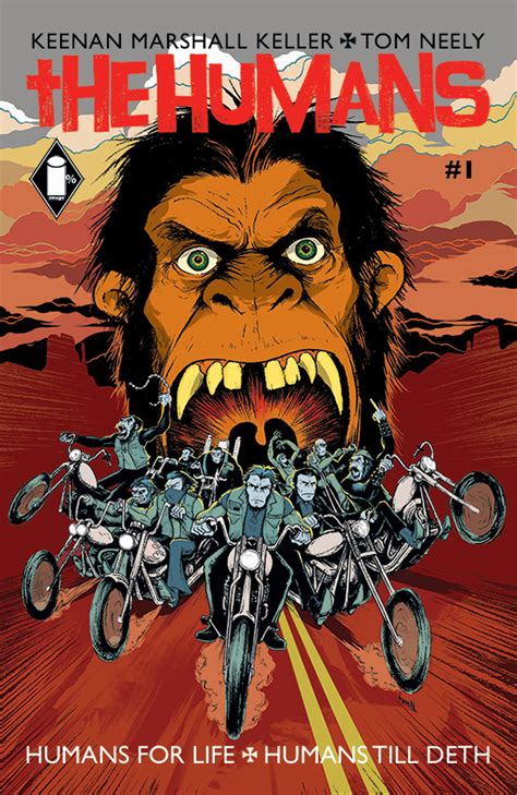 The Humans #1 Presents Biker Gangs as Only Comics Can (Review)