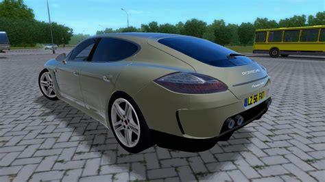 Porsche Remake by City Car Driving Topic Porsche Panamera Turbo Remake