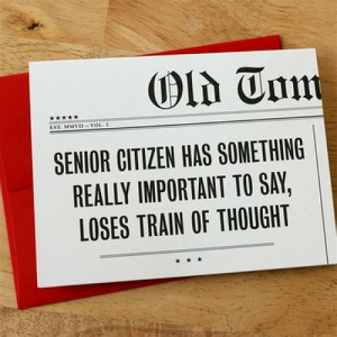 how to make senior citizen card quot senior citizen quot birthday card
