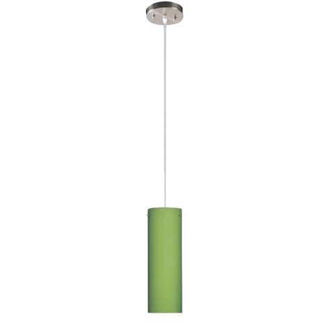 green glass pendant light beldi peak collection 1 light nickel pendant with green