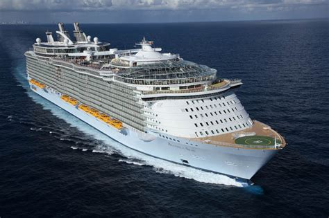 largest cruise line the world s largest cruise ship of the seas