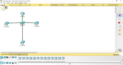 tutorial cisco packet tracer 3 router tutorial konfigurasi voip di cisco packet tracer