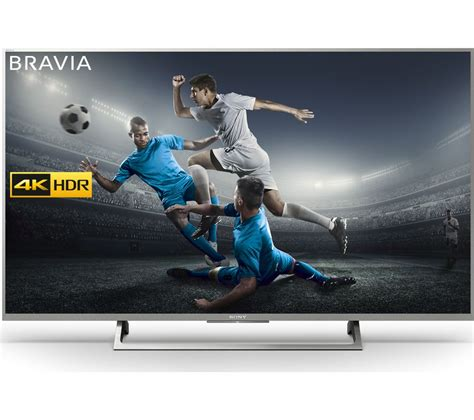 Tv Ultra Hd 4k buy sony bravia kd43xe8077 43 quot smart 4k ultra hd hdr led tv free delivery currys
