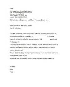 Proof Of Employment Letter For Landlord Template 40 Proof Of Employment Letters Verification Forms Sles
