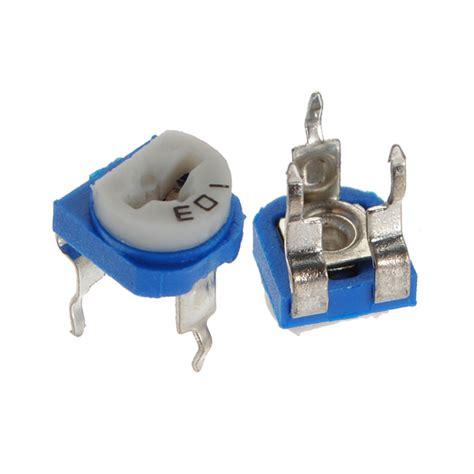 10k ohm variable resistor 5pcs 6mm 10k ohm trimpot trimmer pot variable resistor horizontal alex nld