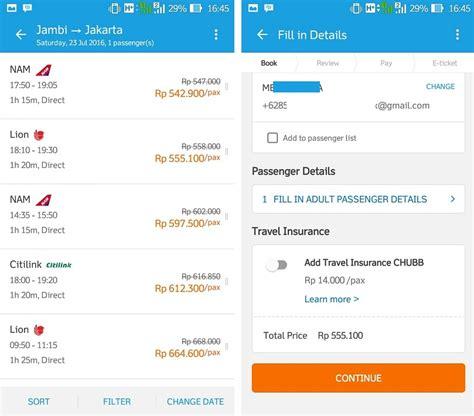 cara membuat invoice tiket pesawat rekreasi alam indonesia