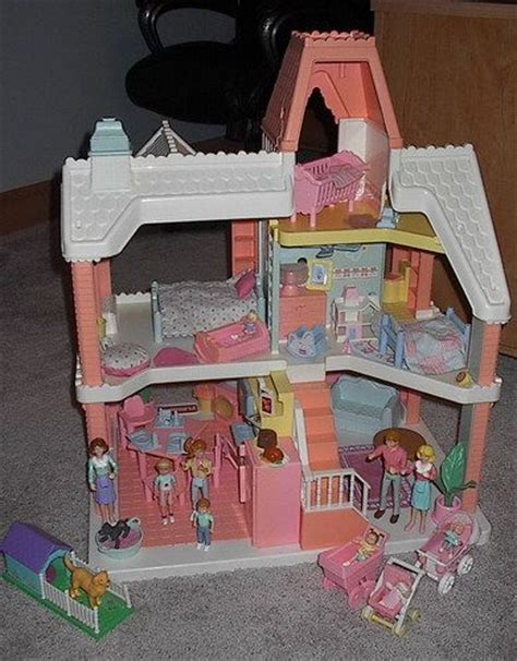 playskool doll house 1991 playskool victorian doll house loaded vintage