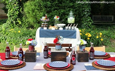 backyard party setup backyard bbq party free printables celebrations at home