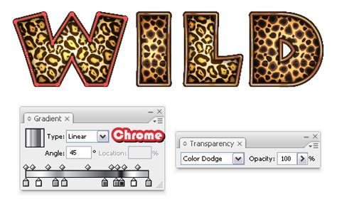 leopard pattern font quick tip create an animal print text effect with adobe