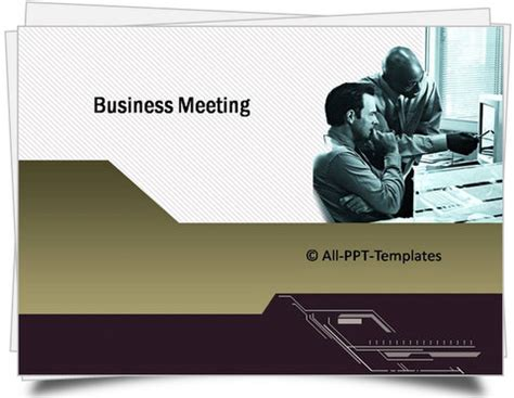 meeting powerpoint template powerpoint sales pitch template set