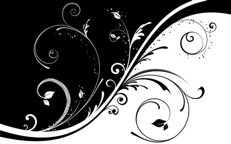 wallpaper black and white art black white floral wallpapers floral patterns