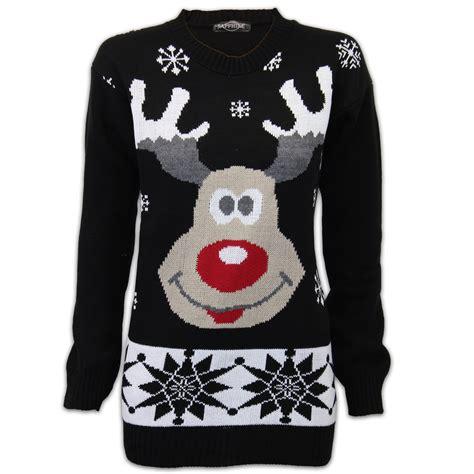mens pattern christmas jumper mens christmas jumper threadbare xmas knitted snowman