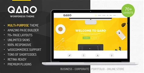 themeforest qaro themeforest qaro v1 3 1 responsive multi purpose wp
