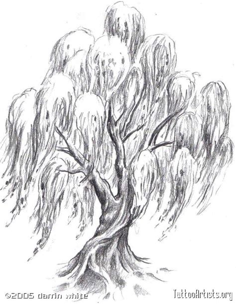 weeping willow tree tattoo trees on weeping willow willow tree tattoos