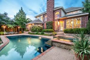 2 story house with pool house with pool for sale in flower mound tx joni koch