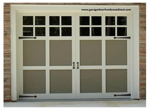 Garage Door Decorative Hardware by Decorative Garage Door Hardware Uses