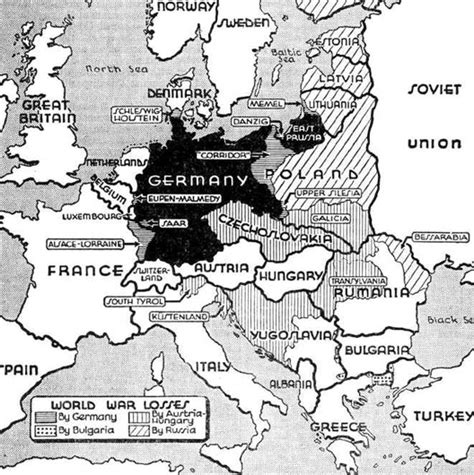 libro after europe territories lost by germany after ww1