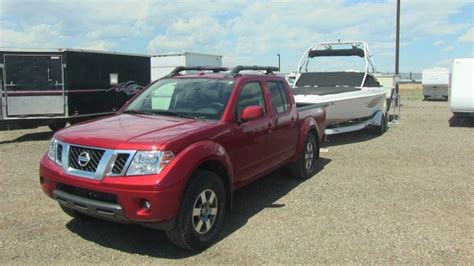 Nissan Frontier 0 60 by Tow Test 2013 Nissan Frontier Pro 4x Goes For 0 60 Mph
