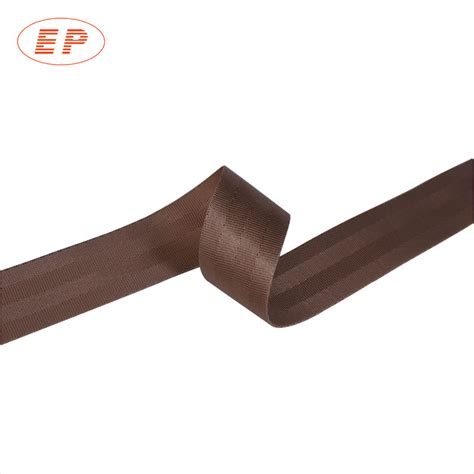 safety belt fabric seat belt material brown car seat belt material
