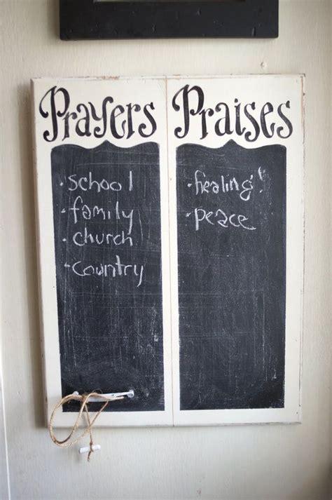 diy chalkboard homeschool prayers and praises chalkboard verse of week scripture