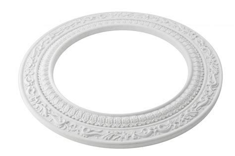 spot light ring white trim 8 quot id x 12 quot od mini medallion