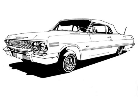 lowrider truck coloring page donutchocula lowrider coloring book