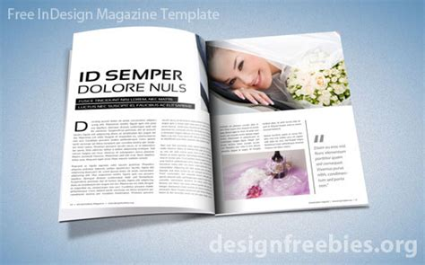 magazine templates free free exclusive indesign magazine template v 2 designfreebies