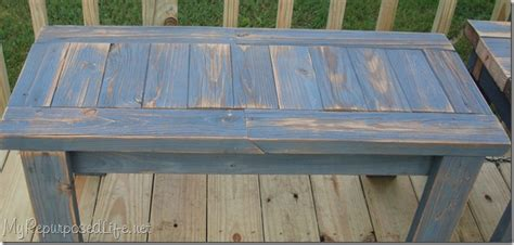 Simple Bench Made From 2x4 S My Repurposed Life