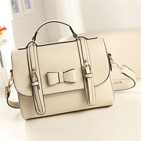 Korean Fashion Impress Bag Broken White Tas Fashion Kore Best Seller the new retro bow handbags korean fashion handbag messenger bag us 26 45 sold out