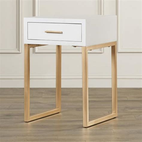 white end table with drawer white end table with drawer