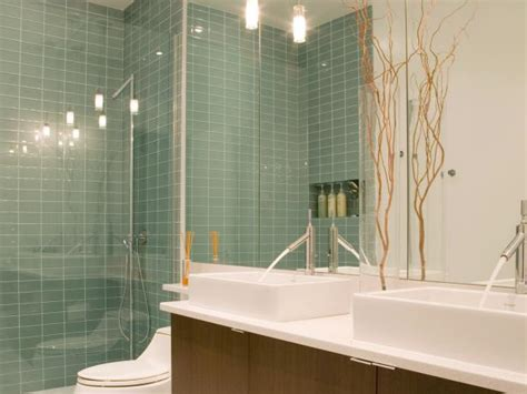 Quarter Bathroom Tiles Adding A Basement Shower Hgtv