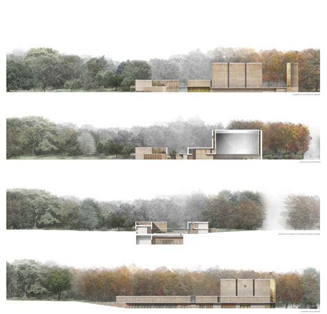 Landscape Arch Elevation Arrigoni Architetti Prospetti E Sezioni Aa Complesso
