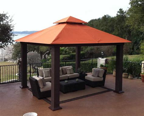 gazebo covers size considerations and design ideas